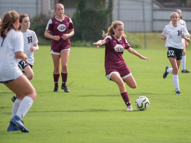 Lady Dragons Soccer fall to Houston 4-1