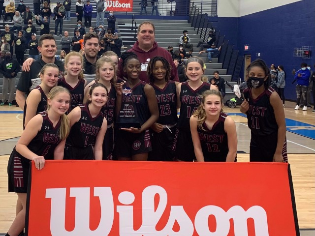 State Runner Up Finish for West Collierville Girls Basketball