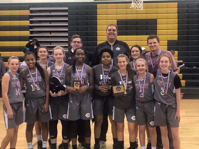 West Collierville Lady Dragons Claim MAM Christmas Classic 3rd Place