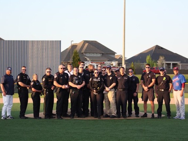JC Baseball Honors First Responders