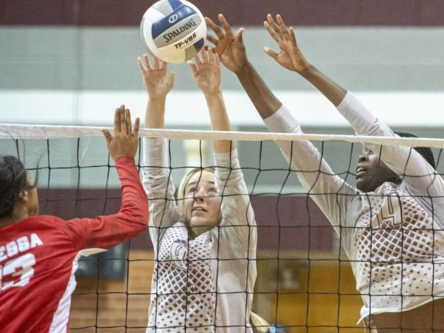 Image for HS VOLLEYBALL: Legacy sweeps OHS, remains in first