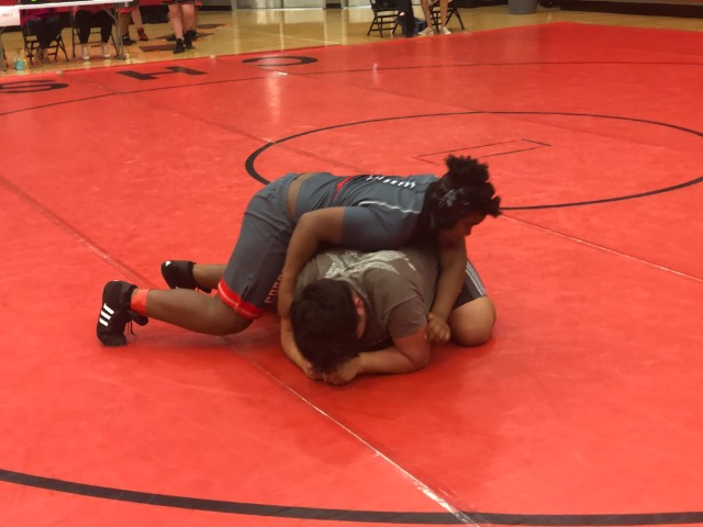 West Wrestles at CHS