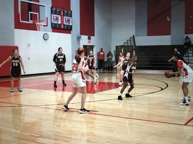 8th Grade Lady Wranglers Win at Home vs. Indian Springs