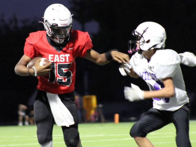 East 8th Grade Splits Games with Wilson