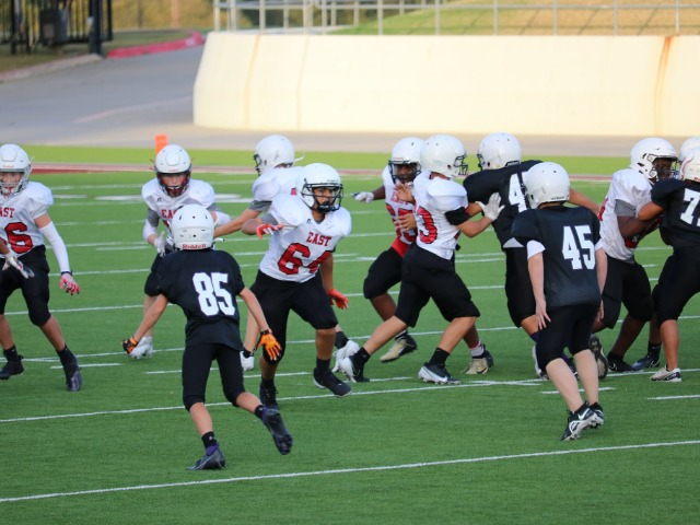 East 7th Football Rumbles with the Wildcats