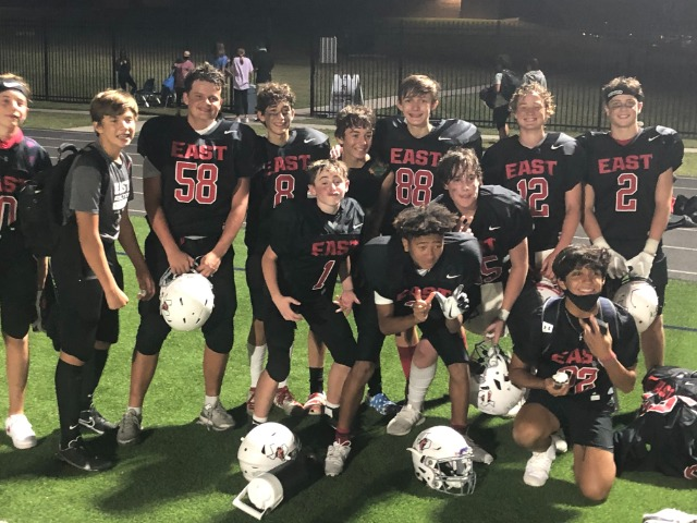 East 8th FB Falls to Keller