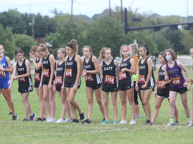East XC Girls Maintain their Undefeated Record in 8th Grade