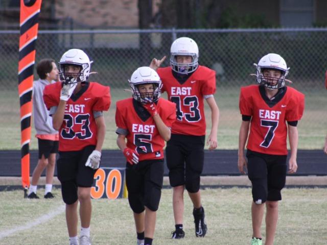 7th & 8th Grade Football Take on Keller