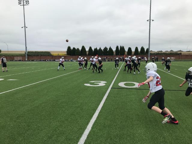 North Football Takes On Adams