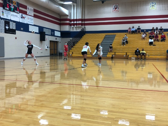North Volleyball vs Hillwood