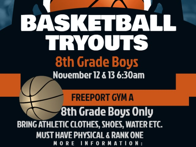 8th Grade Boys Basketball Tryouts