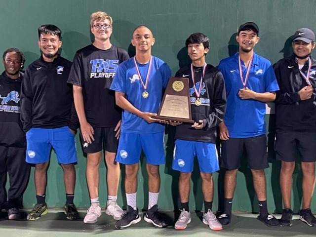 Tyler High captures district tennis championship