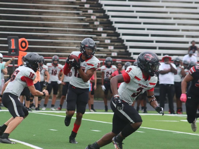 Legacy defense shines in scrimmage against Marshall