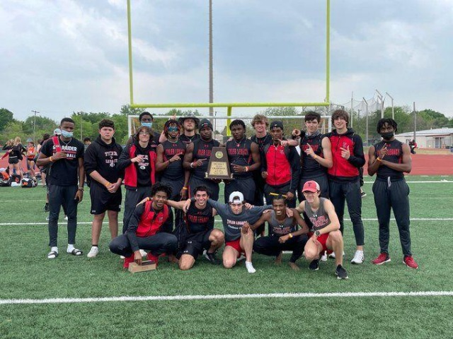 Tyler Legacy Red Raiders win 10-6A track and field title