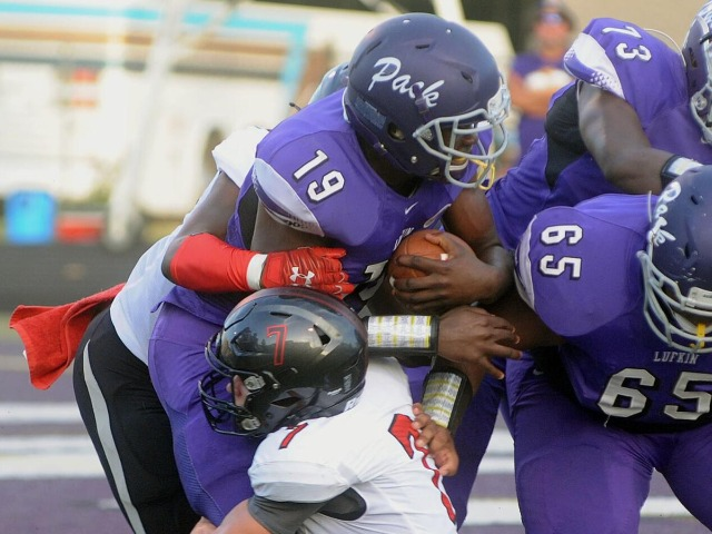 Tyler Legacy wins at Lufkin for first time since 2003, 35-17