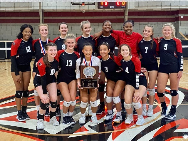 Tyler Legacy wins TISD Invitational Volleyball Tournament