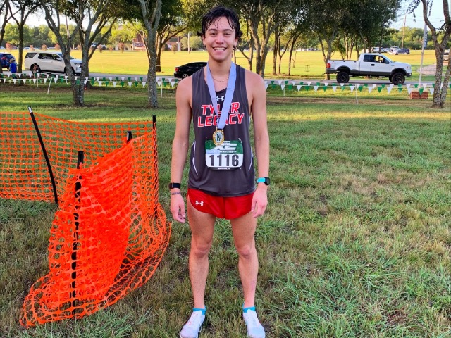 Tyler Legacy's Iain Salter places second in Waxahachie