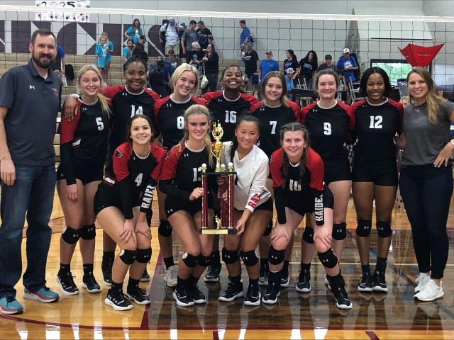 Tyler Legacy captures White Oak volleyball tournament