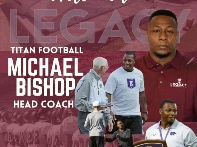 Michael Bishop to Lead Legacy Football Program