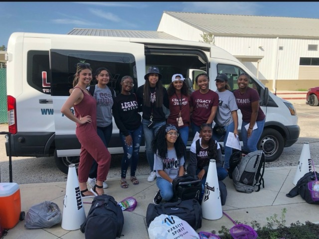 Cheerleaders Head to NCA Cheer Camp