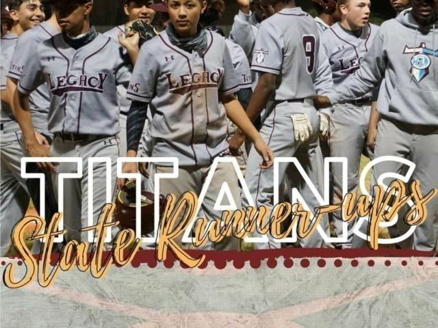 2021 TCAL Baseball State - Runner Up!