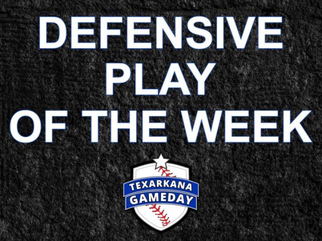 Defensive Play of the Week