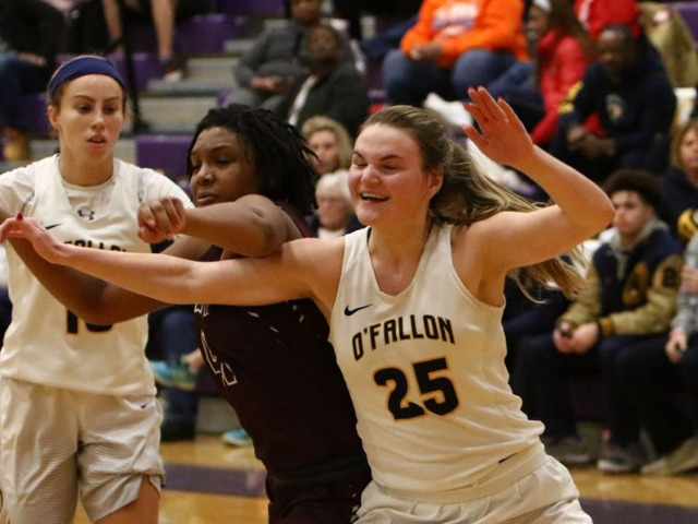 Image for Bell, Lovelace help send O'Fallon into title game with big win over Belleville West