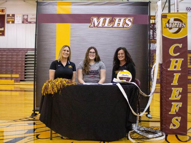 Samantha Shelton signs with Olympic College