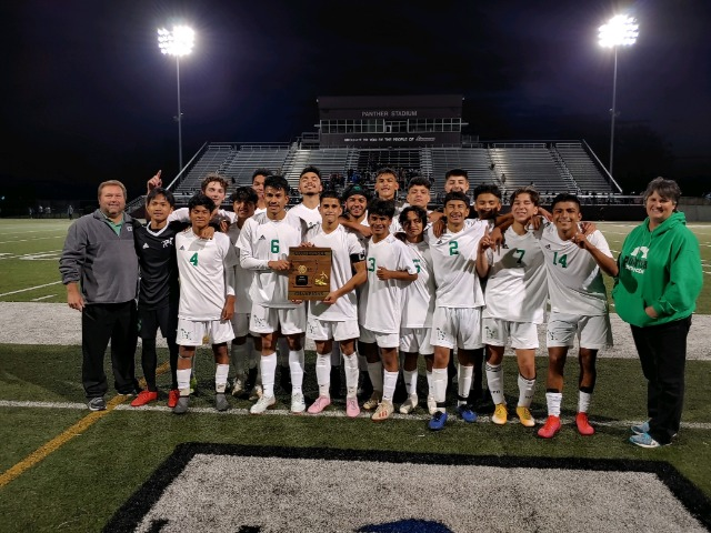 Pointer Soccer is 5A West Conference Champs