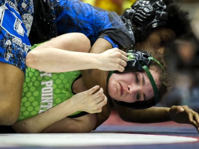 Violet claims state's first gold