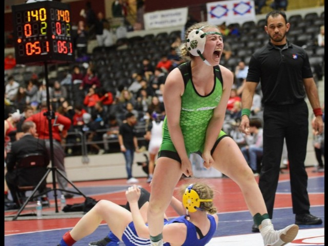 Lady Pointers make history - two wrestlers win inaugural Arkansas girls state wrestling tourney
