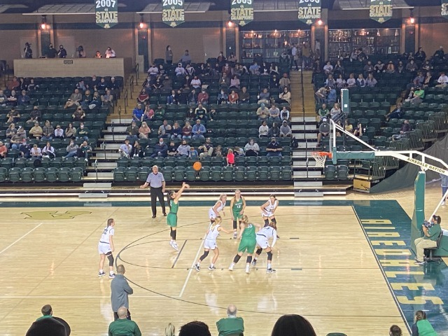 Image for Lady Pointers Sweep the Season Series over the Lady Airedales