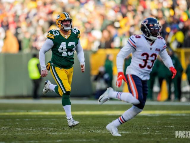 Former Dragon, Hunter Bradley, helps Green Bay Packers Earn No. 1 Seed