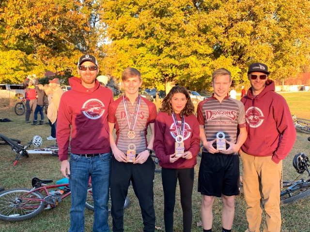Collierville Mountain Biking Finishes 6th at State Championships
