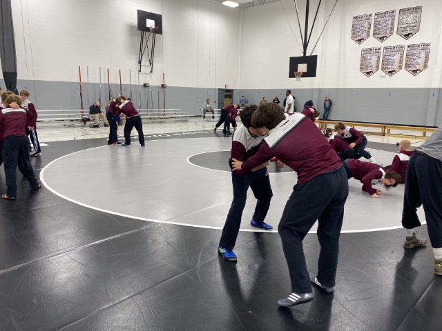 Collierville Wrestling Starts Strong, Defeats Houston 42-34