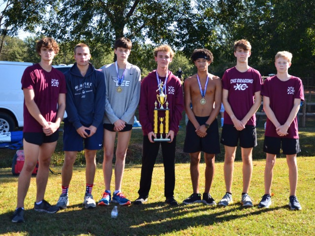 Image for CHS Men's Cross Country Repeats as ACA Invite Champions