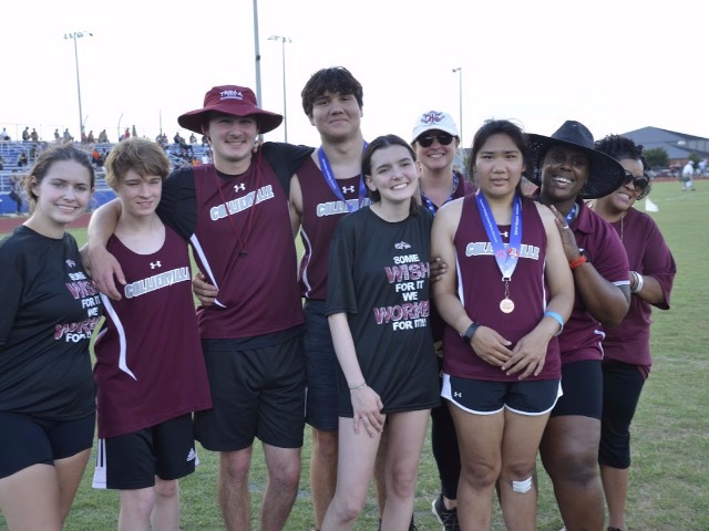 Dragons Unified Track Athletes Enjoy Experience at State Track Meet