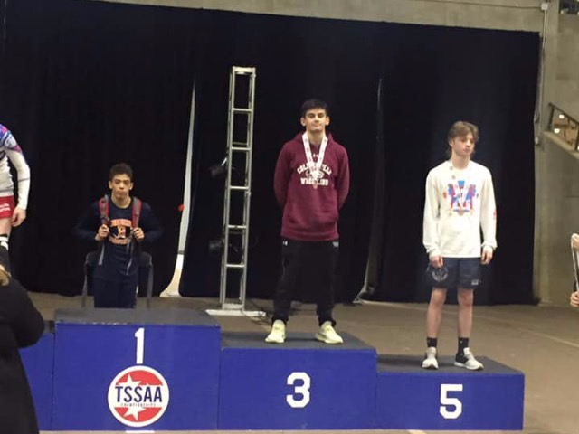 Legendary Careers End With 3rd Place Finish For Two Collierville Wrestlers