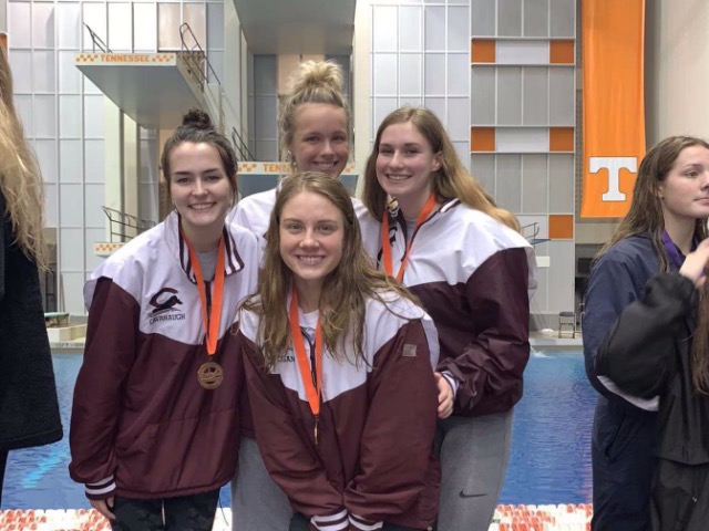 Collierville Swimming is once again top 10 at Tennessee State Championships