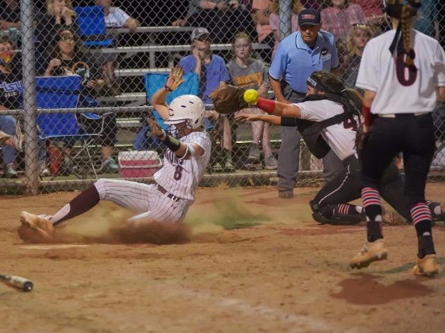 Collierville Softball Slides Past Houston 9-6
