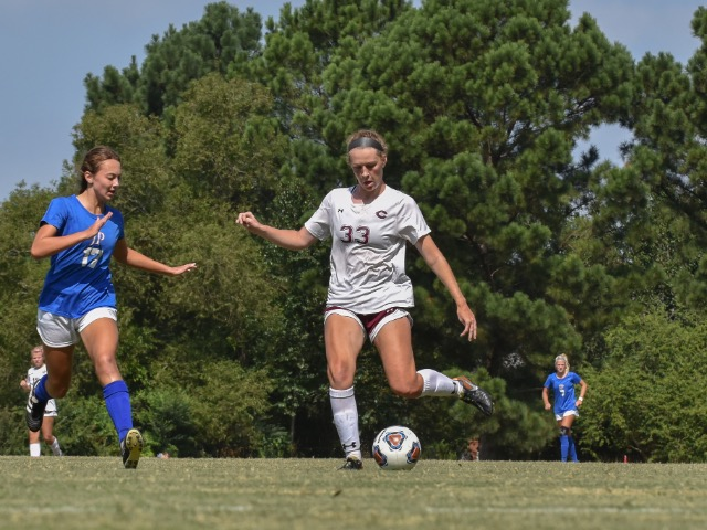 Johnson's Second Half Goal Gives Lady Dragons a 2-1 Win at Bartlett