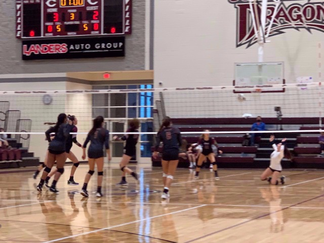 CHS Volleyball Sweeps St. George's 3-0