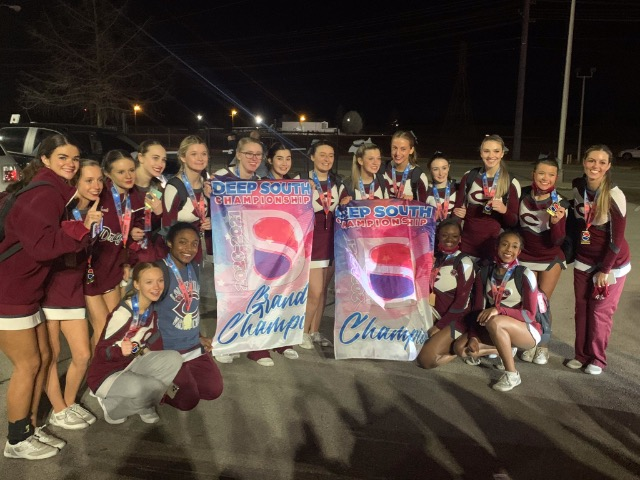 Image for Dragons Cheer Takes Traditional Cheer Title at Rock 'N Roll Classic