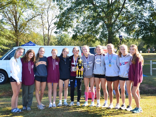 Image for Lady Dragons Cross Country Team Takes 2nd at ACA Invitational