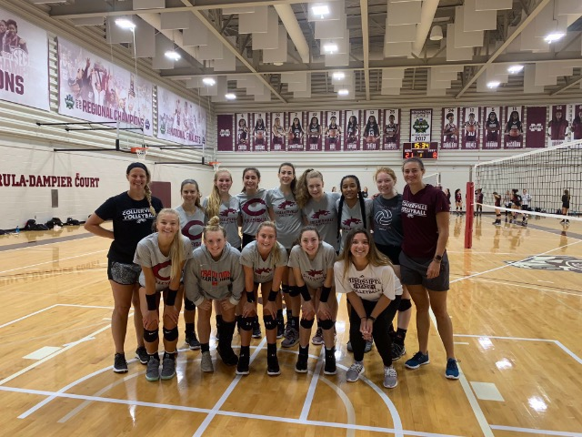 Volleyball Competes at Mississippi State Team Camp