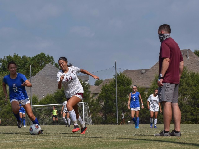 Wilkinson's Hat Trick, Lady Dragons Defense Lead Soccer To 9-0 Victory