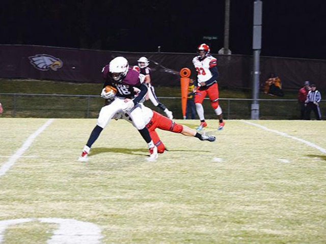 Clarksville downs Eagles 62-13