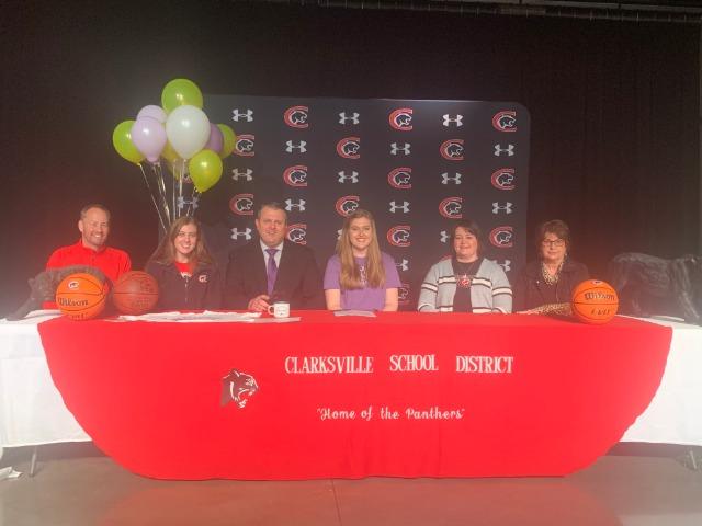 Emmaline Rieder Basketball signing to Ouachita Baptist University