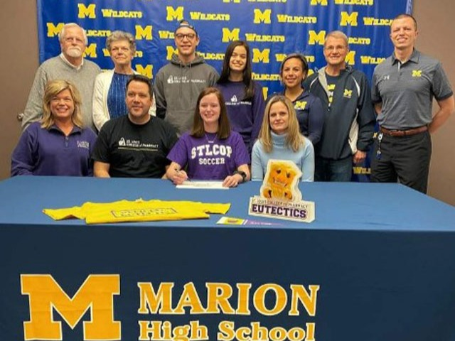 MHS' Wofford signs to play soccer
