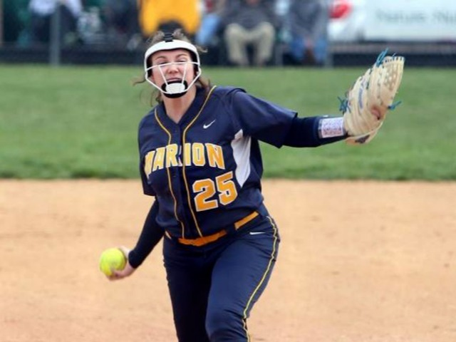 Marion softball takes down Murphysboro